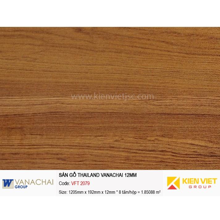 Sàn gỗ công nghiệp Vanachai VFT 2079   12mm