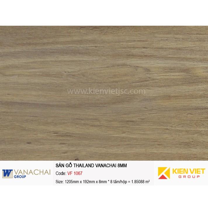 Sàn gỗ công nghiệp Vanachai VFT 1067   8mm