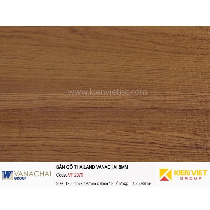Sàn gỗ công nghiệp Vanachai VF 2079 | 8mm