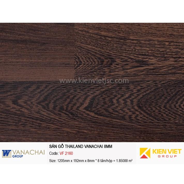 Sàn gỗ công nghiệp Vanachai VF 2160 | 8mm
