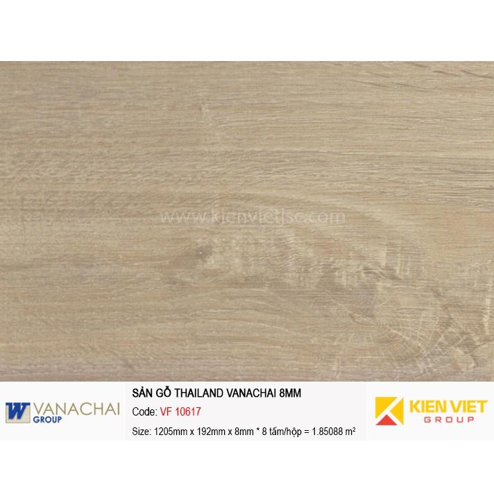 Sàn gỗ công nghiệp Vanachai VF 10617 | 8mm
