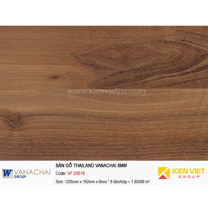 Sàn gỗ công nghiệp Vanachai VF 20619   8mm