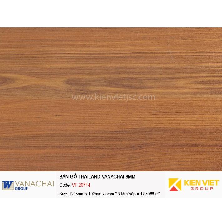 Sàn gỗ công nghiệp Vanachai VF 20714 | 8mm