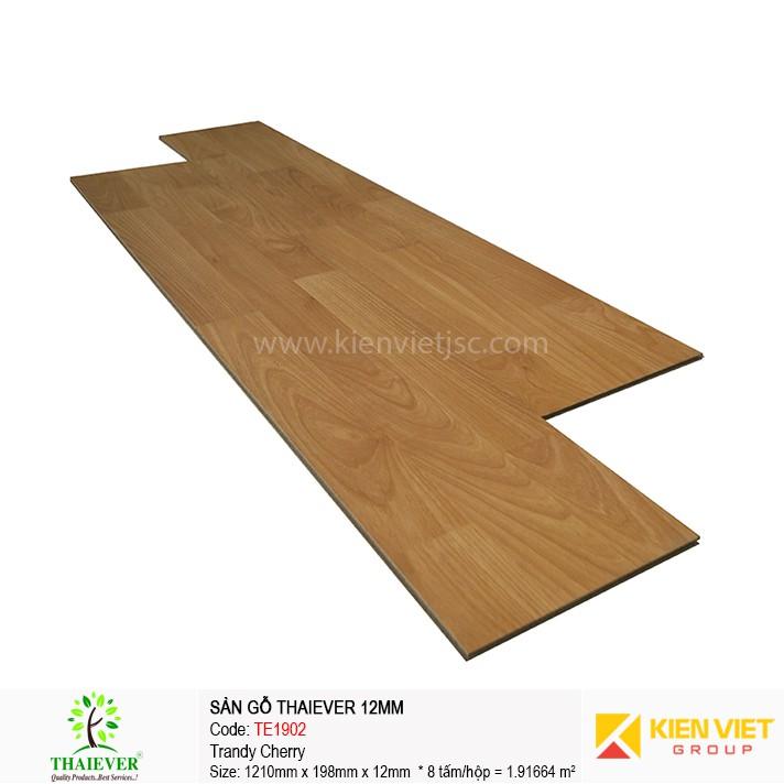 Sàn gỗ công nghiệp Thaiever TE1902 Trandy Cherry | 12mm