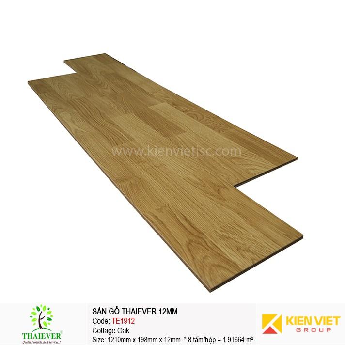 Sàn gỗ công nghiệp Thaiever TE1912 Cottage Oak | 12mm