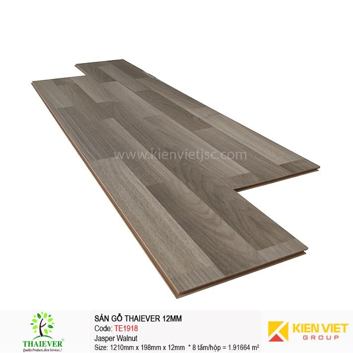 Sàn gỗ công nghiệp Thaiever TE1918 Jasper Walnut | 12mm
