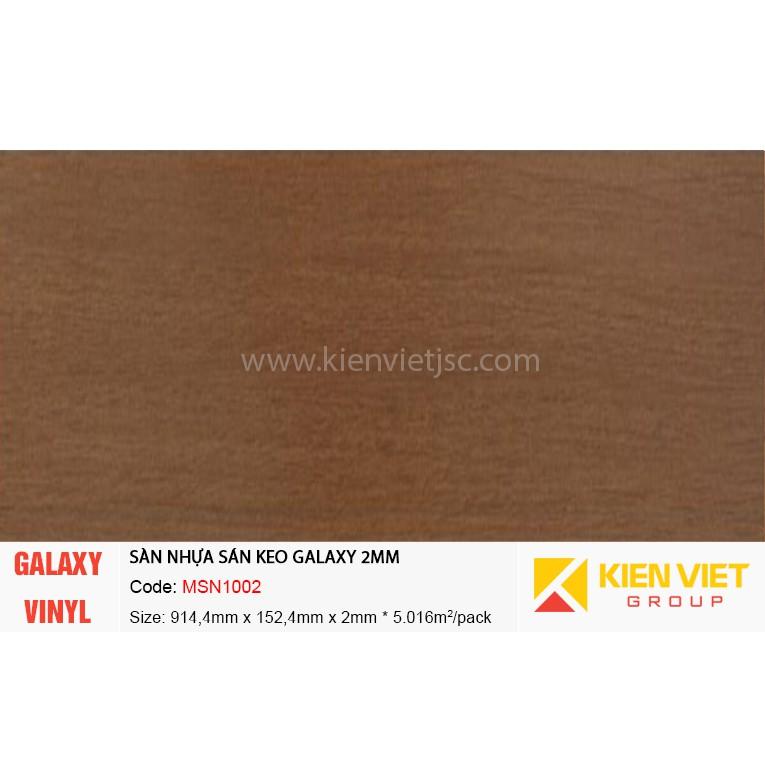 Sàn nhựa dán keo Galaxy MSN1002 | 2mm