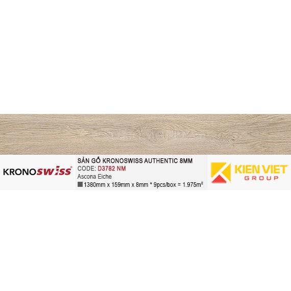 Sàn gỗ Kronoswiss Authentic D3782NM Ascona Eiche | 8mm