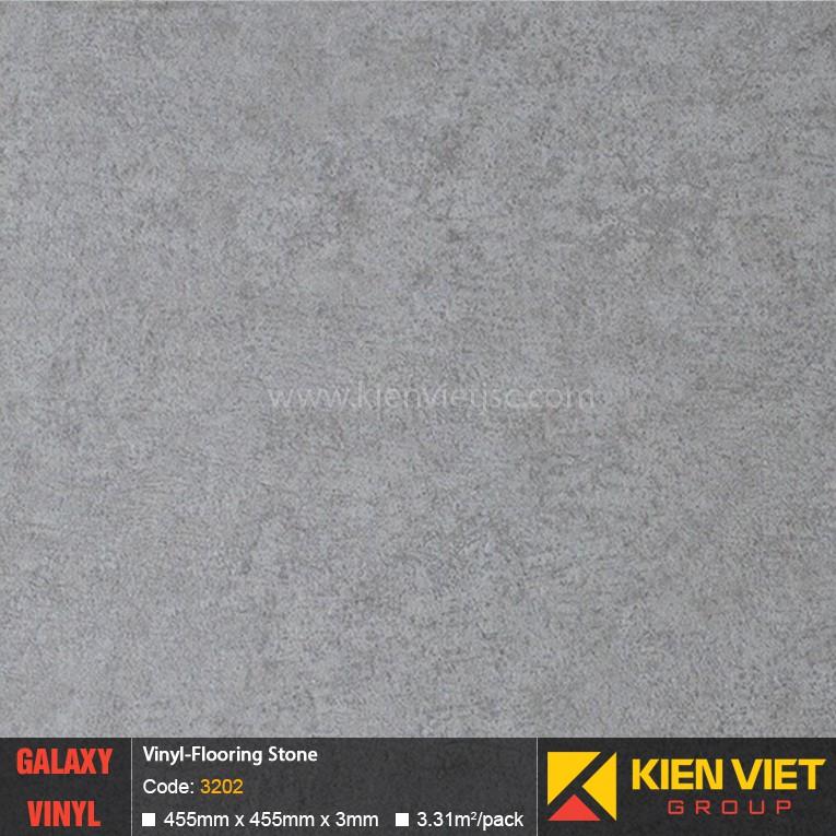 Sàn nhựa dán keo Galaxy vân đá 3202 | 3mm