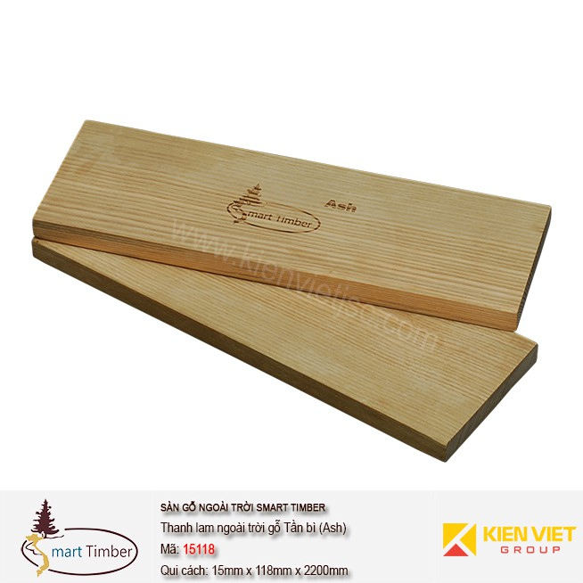 Thanh lam ngoài trời Smart Timber 15118 (Ash) Tần Bì