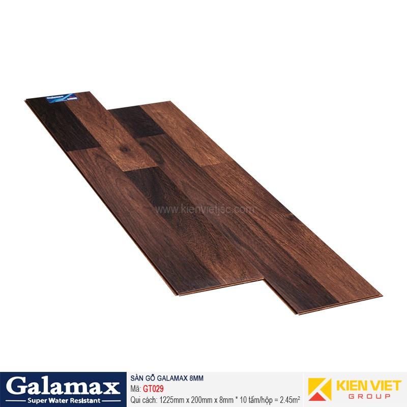 Sàn gỗ công nghiệp Galamax GT029   8mm