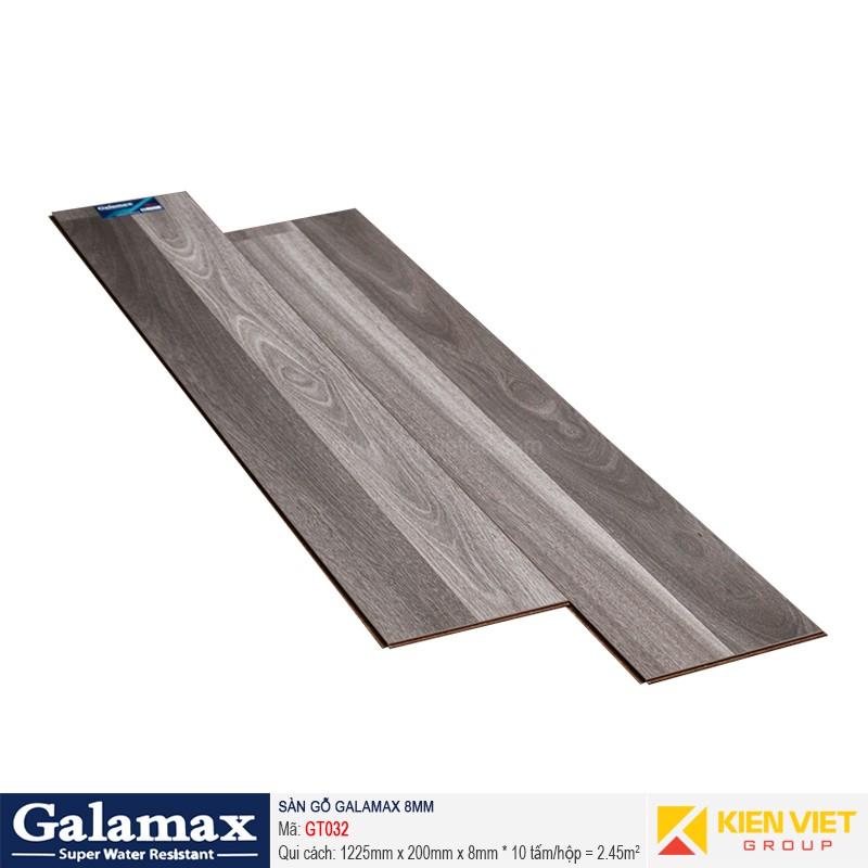 Sàn gỗ công nghiệp Galamax GT032   8mm