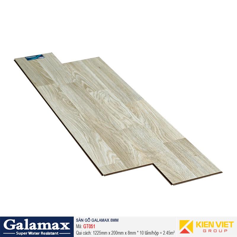 Sàn gỗ công nghiệp Galamax GT051   8mm