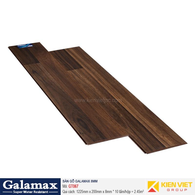 Sàn gỗ công nghiệp Galamax GT067   8mm