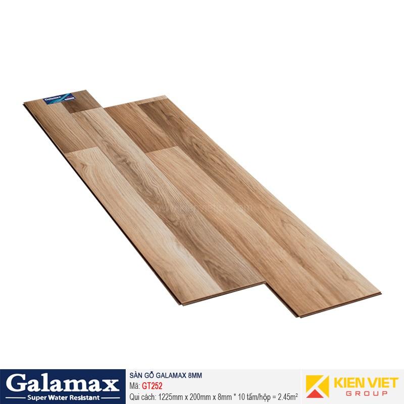 Sàn gỗ công nghiệp Galamax GT252 | 8mm