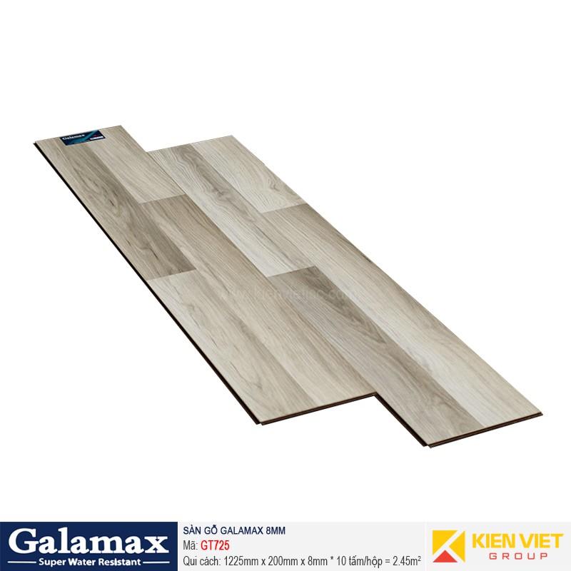 Sàn gỗ công nghiệp Galamax GT725   8mm