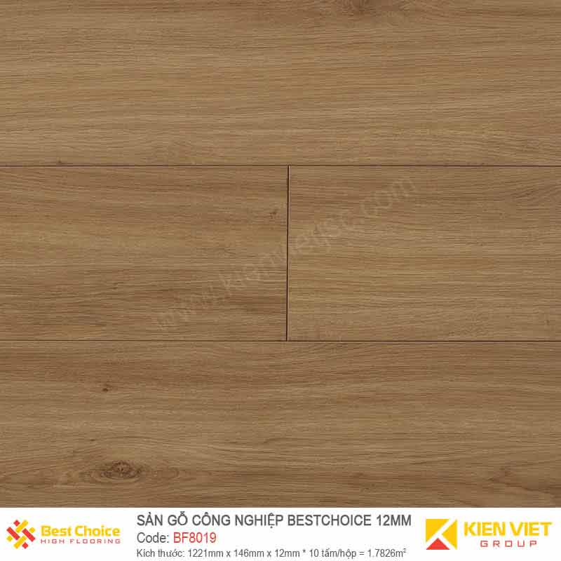 Sàn gỗ Bestchoice BF8019 | 12mm