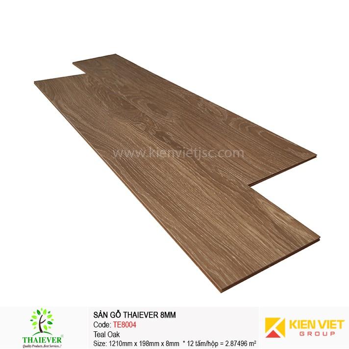 Sàn gỗ công nghiệpThaiever TE8004 Teal Oak | 8mm