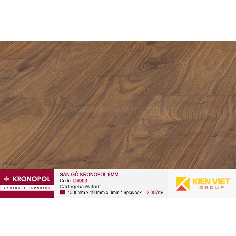 Sàn gỗ Kronopol D4903 Cartagena Walnut | 8mm