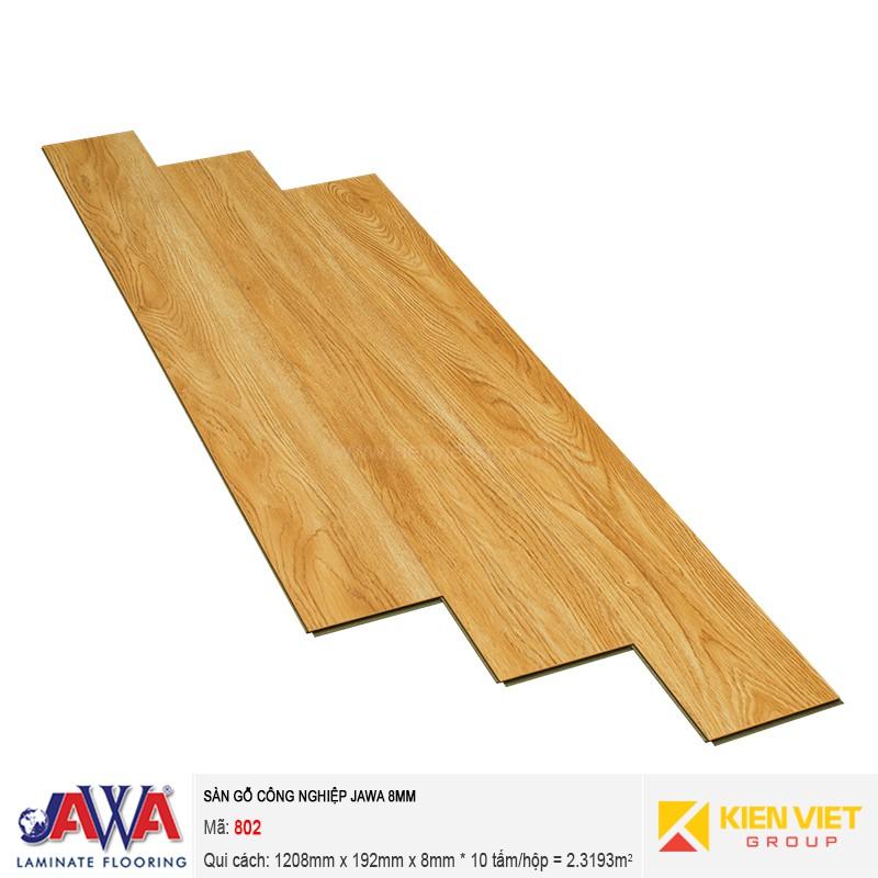 Sàn gỗ công nghiệp JAWA 802 | 8mm
