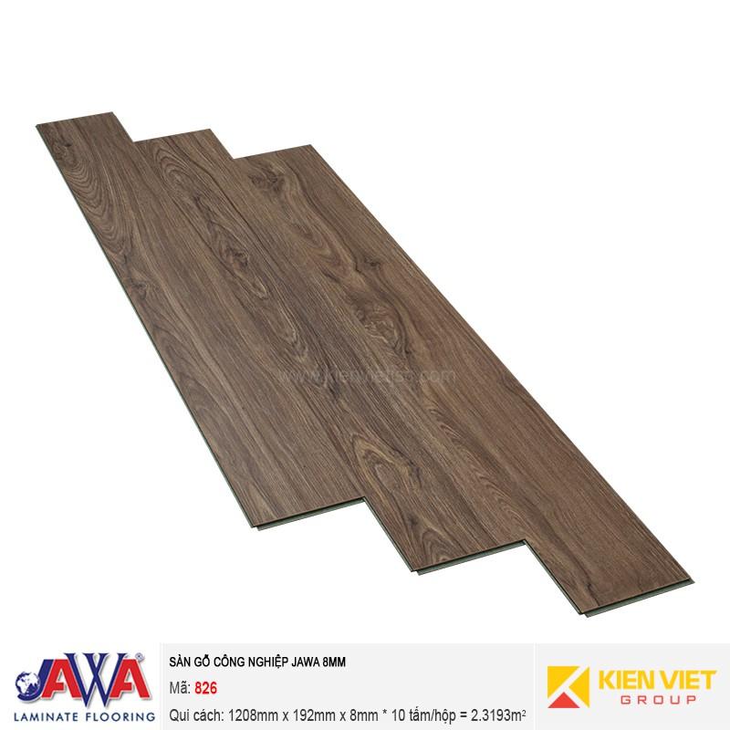 Sàn gỗ công nghiệp JAWA 826 | 8mm
