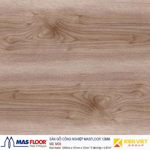 Sàn gỗ MASFLOOR M08   12mm