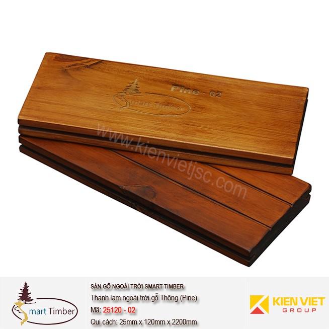 Ván sàn ngoài trời Smart Timber Thông (Pine) 25120-02