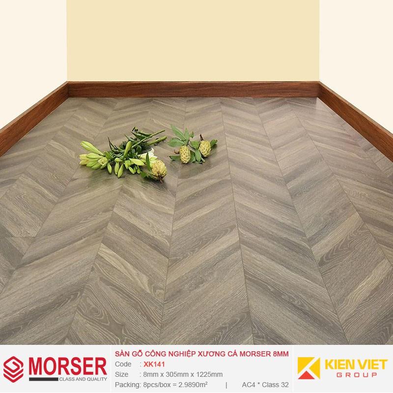 Sàn gỗ công nghiệp xương cá Morser XK141 | 8mm
