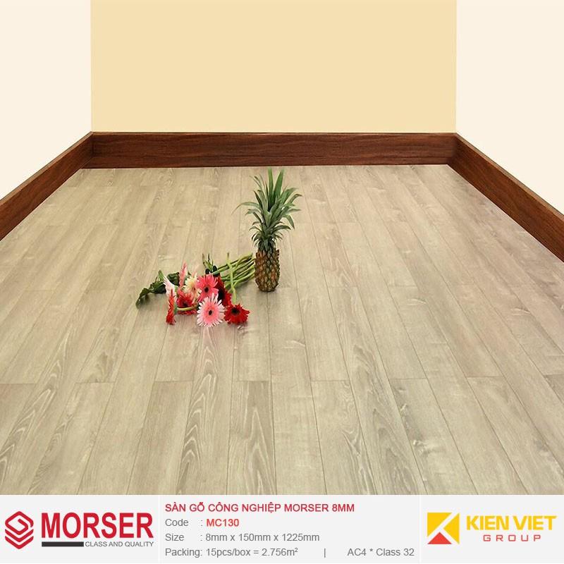 Sàn gỗ công nghiệp Morser MC130 | 8mm