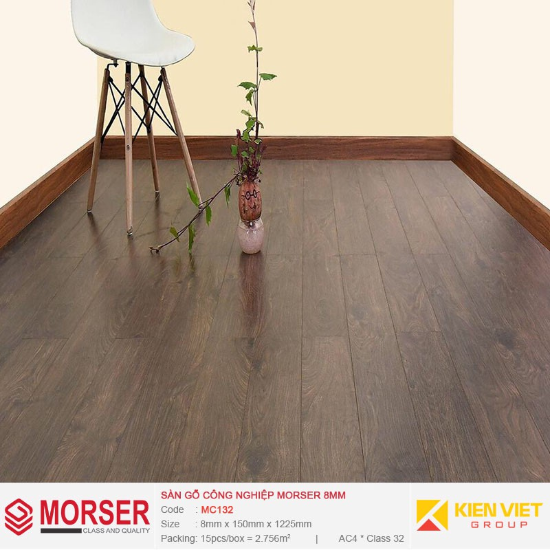 Sàn gỗ công nghiệp Morser MC132 | 8mm