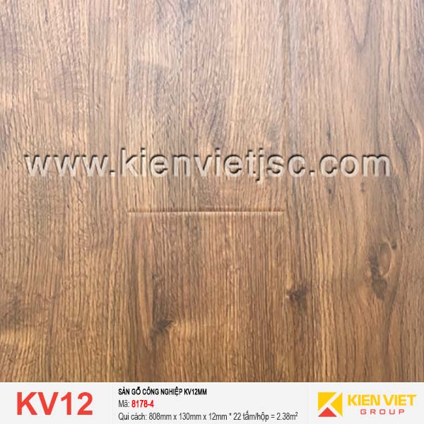 Sàn gỗ giá rẻ KV12 | 8178-4