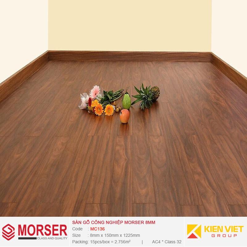 Sàn gỗ công nghiệp Morser MC136 | 8mm