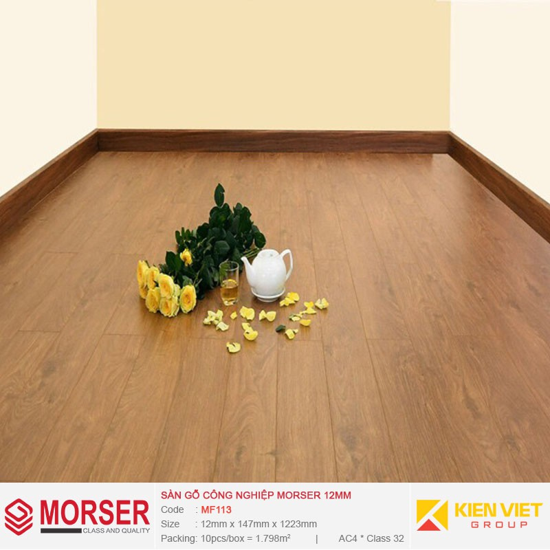 Sàn gỗ công nghiệp Morser MF113 | 12mm
