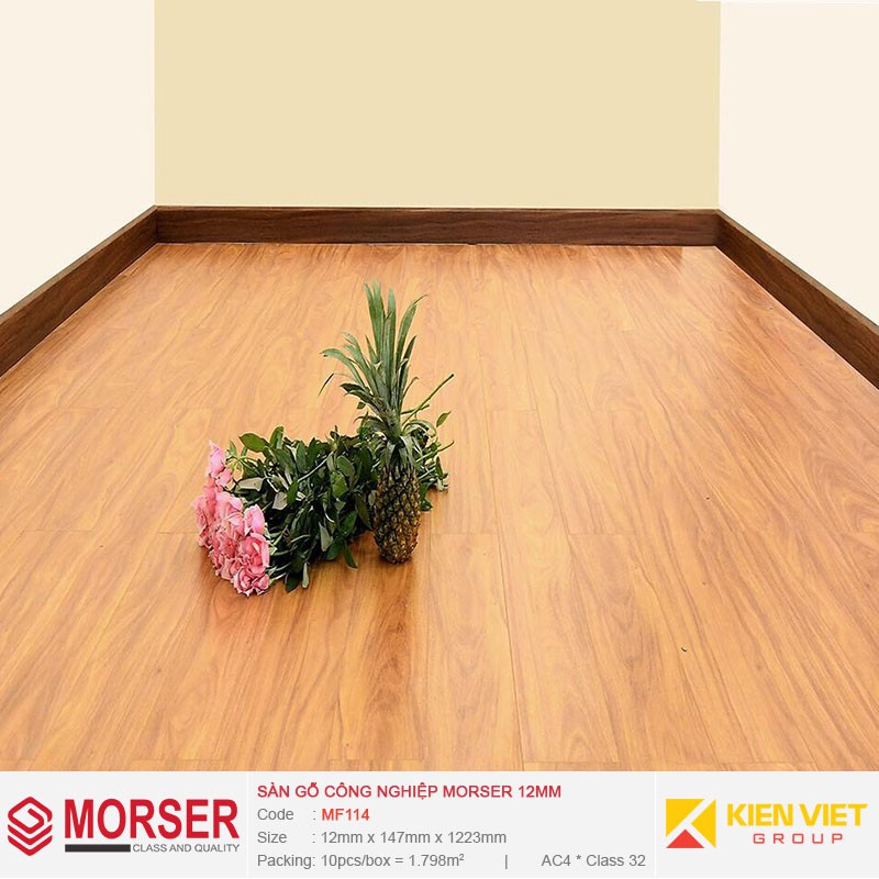 Sàn gỗ công nghiệp Morser MF114 | 12mm