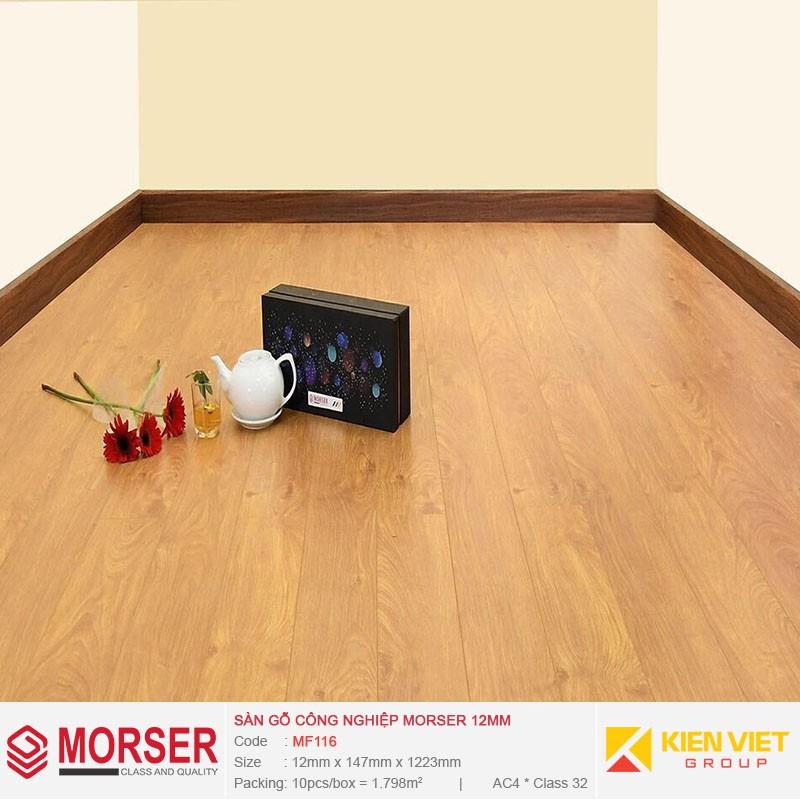Sàn gỗ công nghiệp Morser MF116 | 12mm