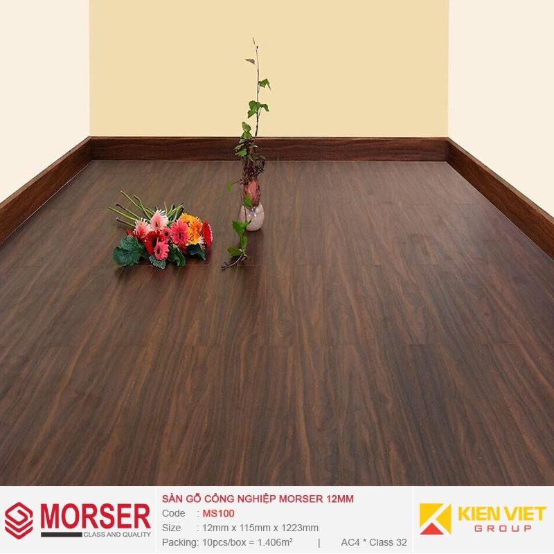 Sàn gỗ công nghiệp Morser MS100 | 12mm