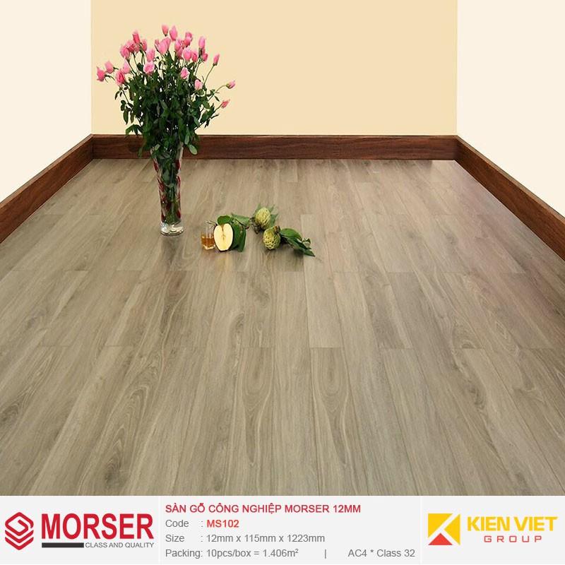 Sàn gỗ công nghiệp Morser MS102 | 12mm