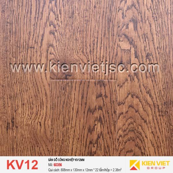 Sàn gỗ giá rẻ KV12 - 60356