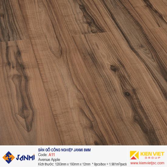 Sàn gỗ Janmi A11 Avenue Apple | 8mm