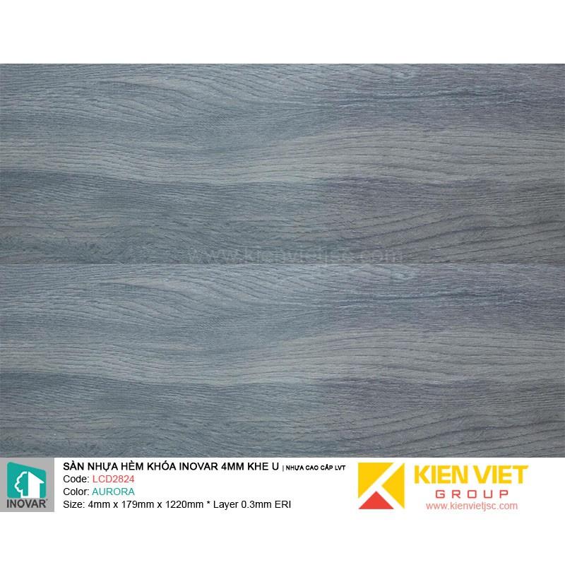 Sàn nhựa hèm khoá Inovar LCD2824 nhựa cao cấp LVT | 4mm