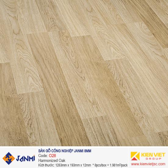 Sàn gỗ Janmi O28 Harmonized Oak | 8mm