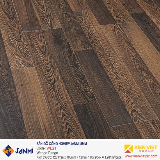 Sàn gỗ Janmi WE21 Wenge Panga | 8mm