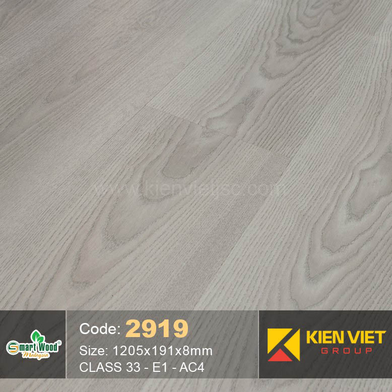 Sàn gỗ Smartwood AC4 2919   8mm