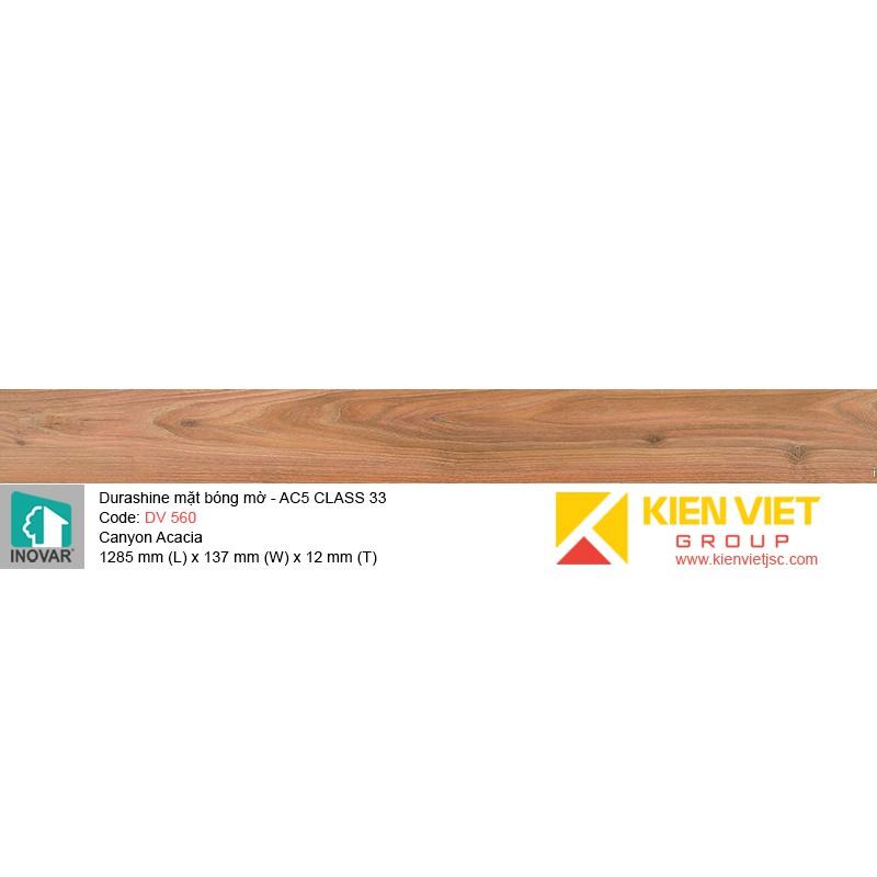 Sàn gỗ Inovar Durashine DV560 Canyon Acacia | 12mm
