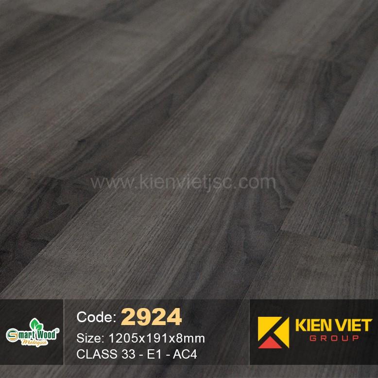 Sàn gỗ Smartwood AC4 2924   8mm
