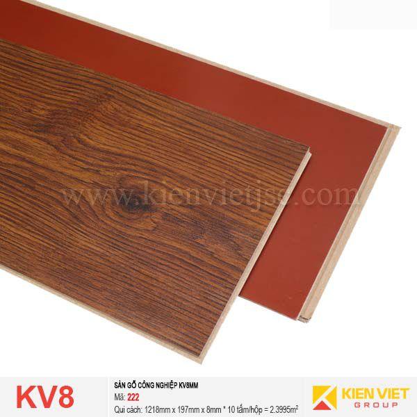 Sàn gỗ giá rẻ KV8 - 222