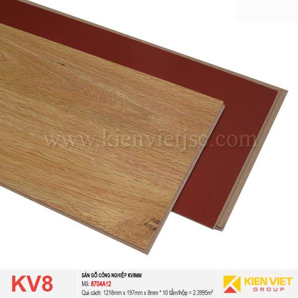 Sàn gỗ giá rẻ KV8 - 8704A-12