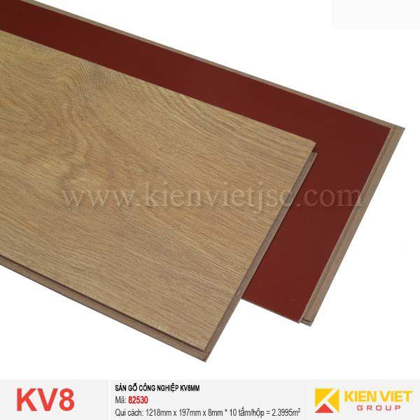 Sàn gỗ giá rẻ KV8 - 82530