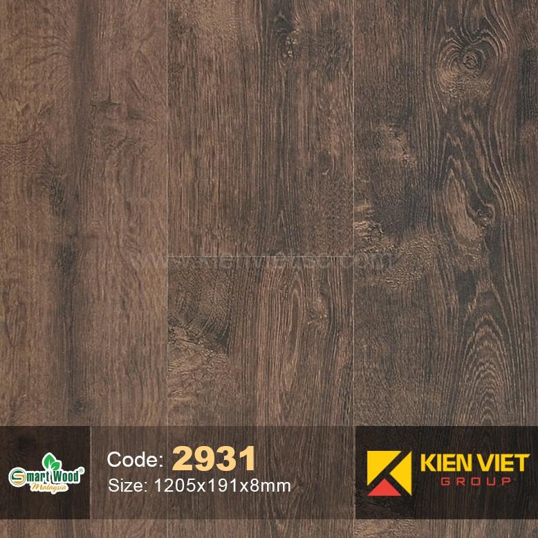 Sàn gỗ Smartwood AC4 2931 | 8mm