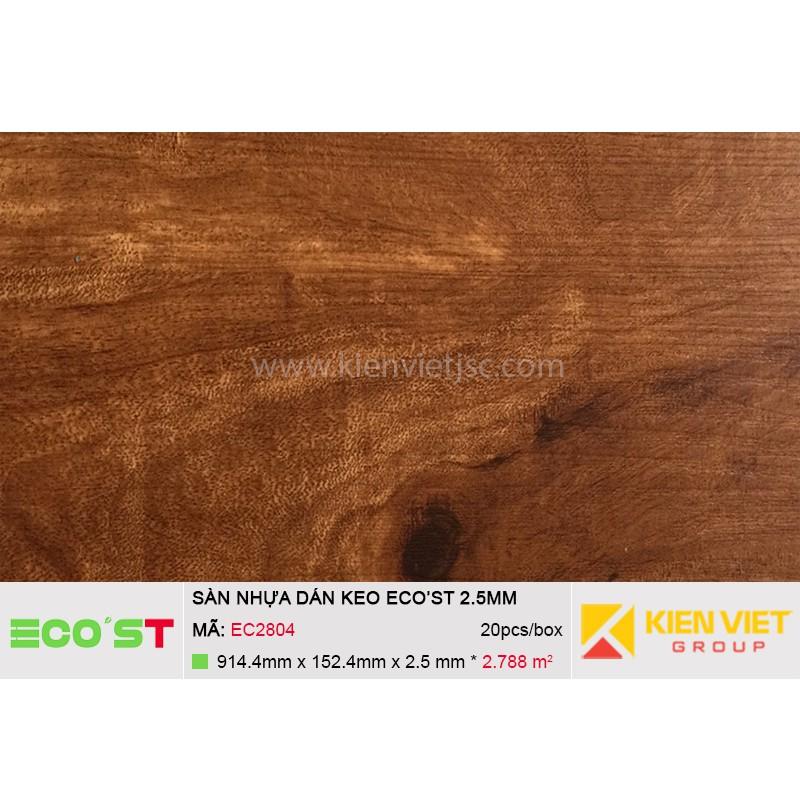 Sàn nhựa dán keo Ecost EC2804 | 2,5mm